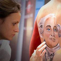 Accademia di Trucco Professionale Roma corsi master corso laminazione ciglia arabic make up contouring avanzato paramedicale disegno anatomico