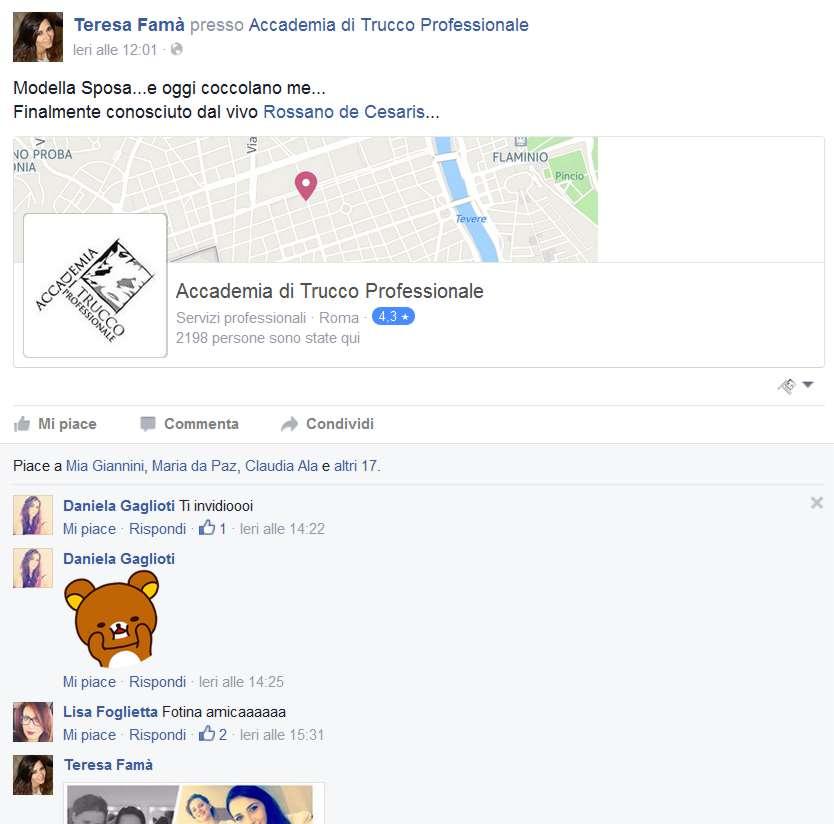 Accademia di Trucco Professionale Roma corsi master corso tatuaggio piercing microblading extension laminazione ciglia trucco sposa personal shopper Teresa Fama