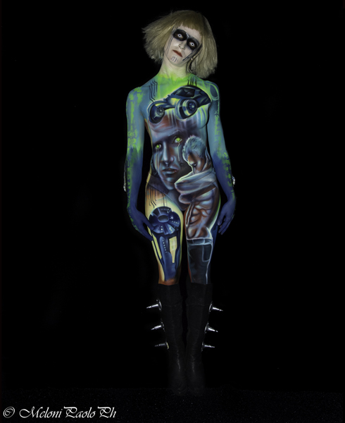 Lucia Postacchini Corsi Regionali Master Airbrush, Master creative makeup, Workshop Body Painting, Accademia di Trucco Professionale Roma 12