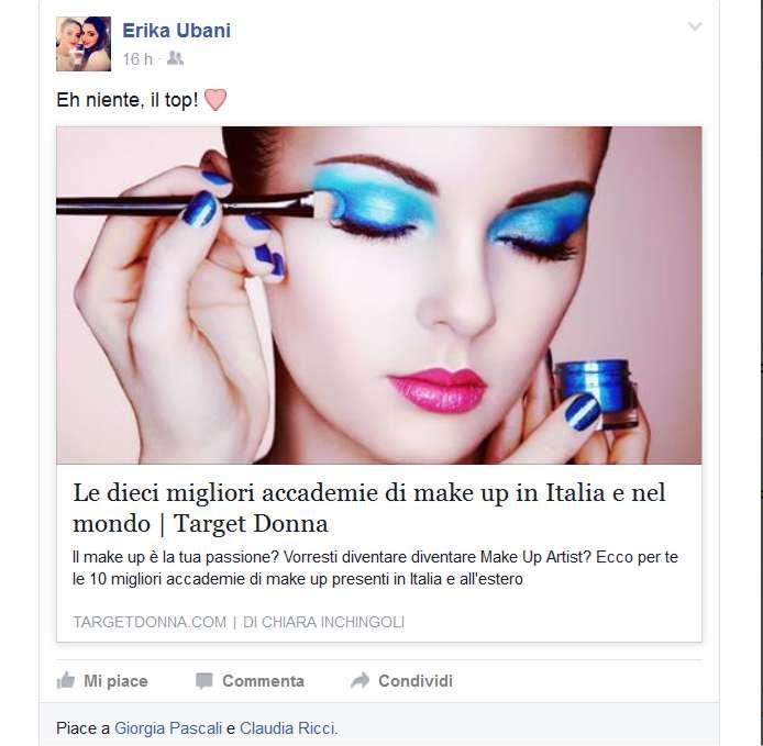 Accademia di Trucco Professionale Roma corsi master corso tatuaggio piercing microblading extension laminazione ciglia trucco sposa personal shopper Erika Urbani