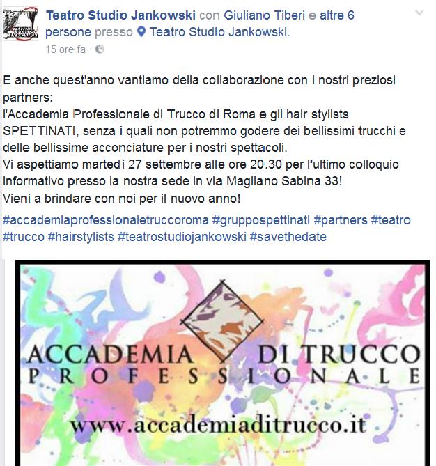 Accademia di Trucco Professionale Roma corsi master corso cinema make up professionale ricostruzione unghie face body painting consulenza di immagine beauty masters jank