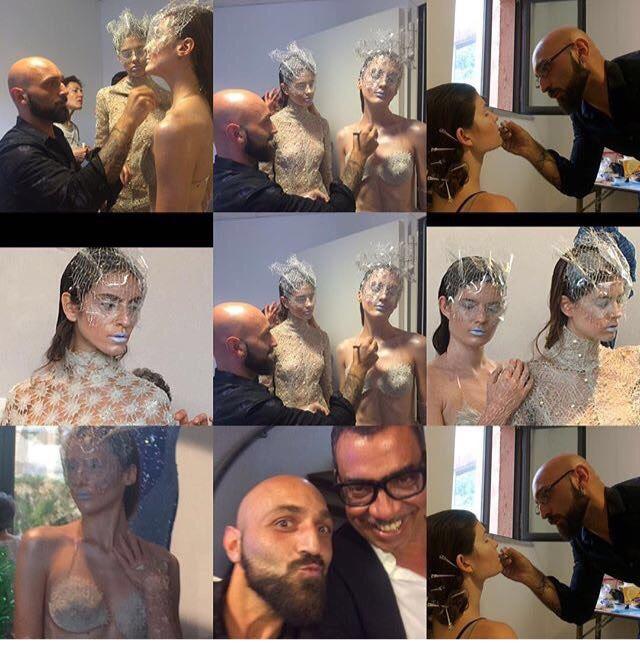 Accademia di Trucco Professionale Roma corsi master corso cinema make up professionale ricostruzione unghie face body painting consulenza di immagine beauty masters 11 Vanja Bizzi per MAC COSMETICS