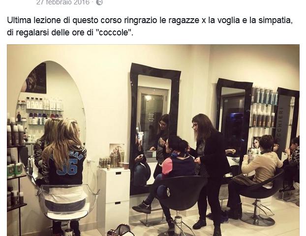Accademia di Trucco Professionale Roma corsi master corso trucco permanente beauty creative air brush contouring avanzato disegno anatomico 8 Vanja Bizzi per MAC COSMETICS