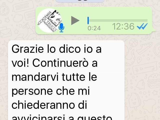 Accademia di Trucco Professionale Roma corsi master corso personal shopper ricostruzione unghie trucco sposa personal shopper barbe baffi Testimonianze 07