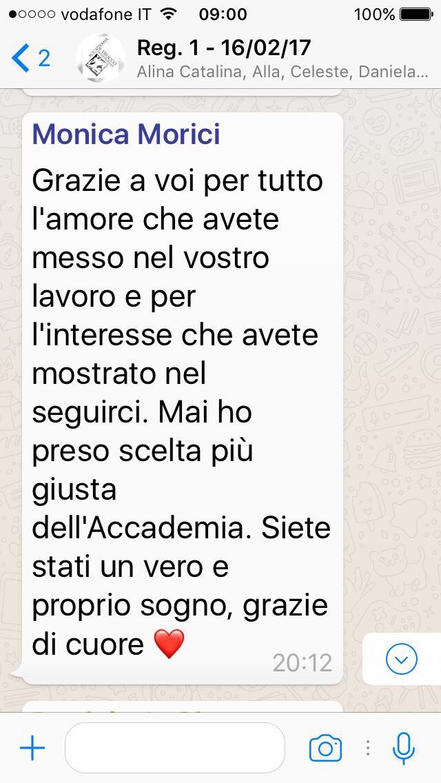 Accademia di Trucco Professionale Roma corsi master corso personal shopper ricostruzione unghie trucco sposa personal shopper barbe baffi Testimonianze 02
