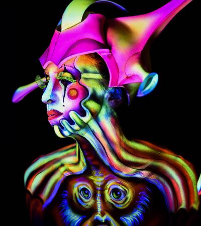 icona creative airbrush lucia postacchini