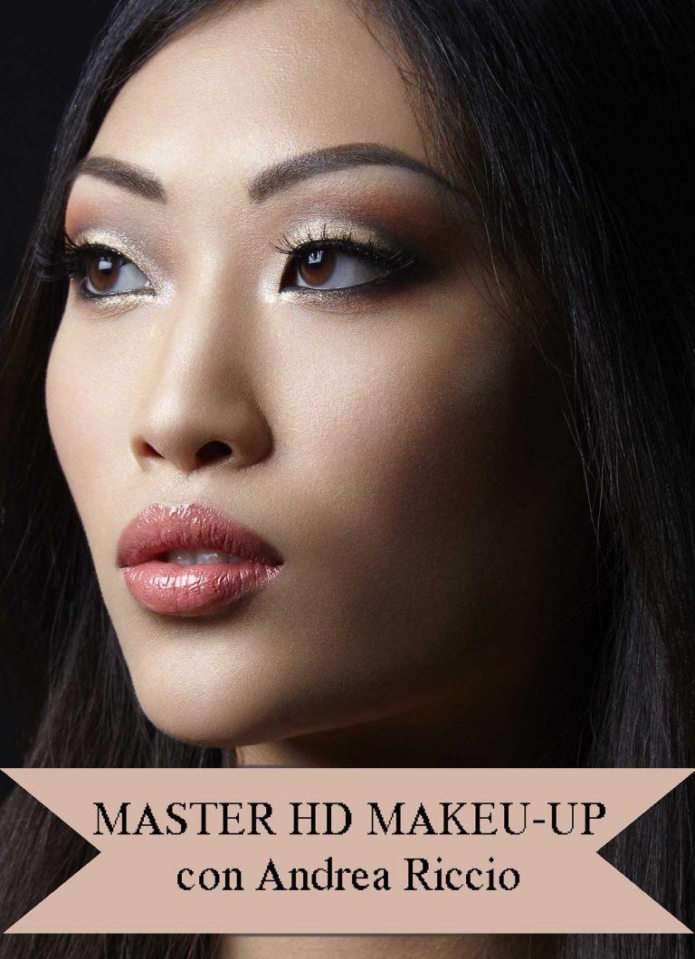 MASTERS di APPROFONDIMENTO di TRUCCO PROFESSIONALE - Master hd makeup Andrea Riccio