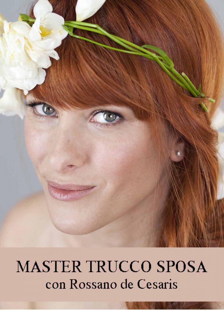 MASTERS di APPROFONDIMENTO di TRUCCO PROFESSIONALE - Master sposa Rossano De Cesaris 3