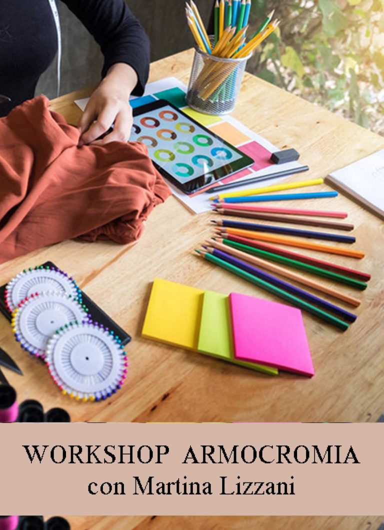 ONE DAY WORKSHOP - Armocromia workshop